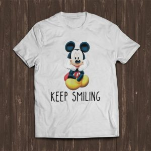 Official Mickey Mouse Keep Smiling shirt