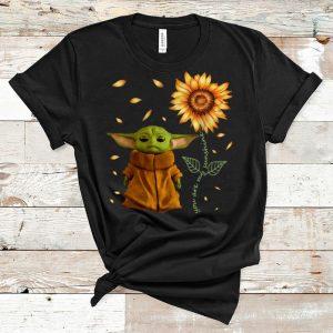 Official Sunflower Baby Yoda You Are My Sunshine shirt