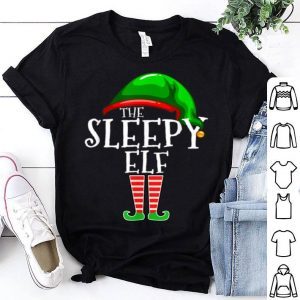 Original The Sleepy Elf Family Matching Group Christmas Gift Funny sweater