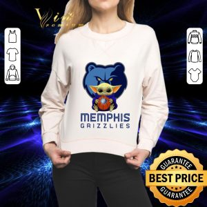 Premium Baby Yoda Hug Memphis Grizzlies Star Wars Mandalorian shirt