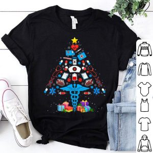 Premium Christmas Tree Medical Tools Funny Nurse Christmas Gifts sweater