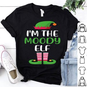 Premium I'm The Moody Elf Matching Family Group Christmas sweater