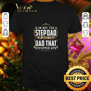 Premium I'm not the step dad i'm just the dad that stepped up shirt