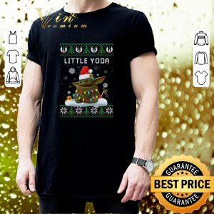 Premium Little Yoda ugly Christmas sweater 2