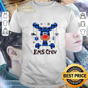 Premium Reindeer EMS Crew Christmas shirt