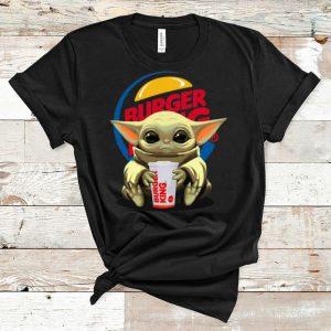 Premium Star Wars Baby Yoda Hug Burger King shirt