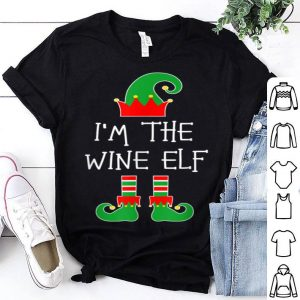 Top I'm The Wine Elf Matching Family Group Christmas sweater