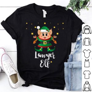 Top Lawyer Women Elf Matching Family Group Elves Christmas sweater