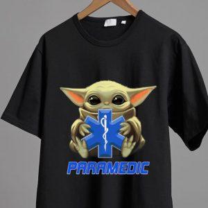 Top Star Wars Baby Yoda Hug Paramedic shirt