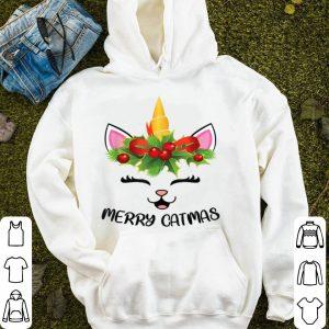 Top Unicorn Girls Women Gift Merry Catmas Cat Christmas sweater