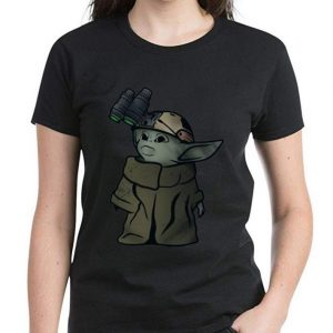 Nice Baby Yoda Soldier Binoculars shirt 2