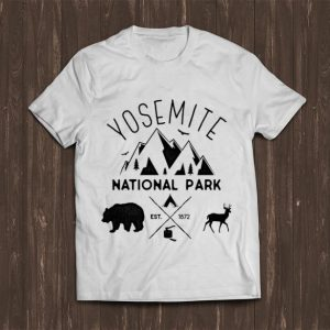 Official Yosemite National Park California Est 1872 shirt