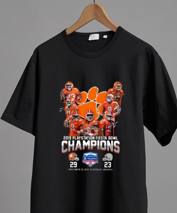 Original 2019 Playstation Fiesta Bowl Champions Clemson Tigers shirt