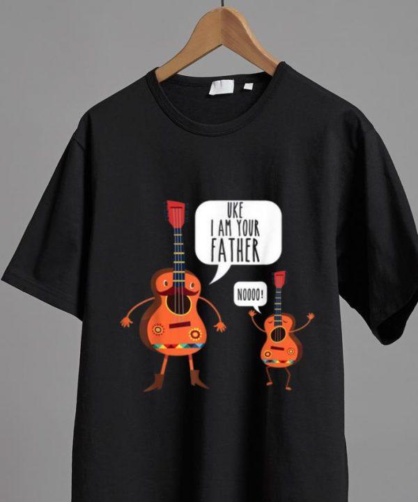 Pretty Uke I Am Your Father Noooo Ukulele And Guitar Lovers shirt