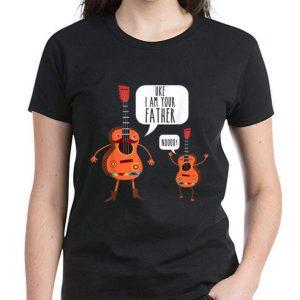 Pretty Uke I Am Your Father Noooo Ukulele And Guitar Lovers shirt 2