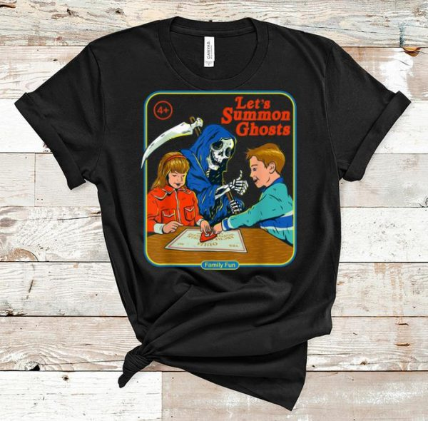 Top Let's Summon Ghost Family Fun shirt