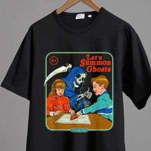 Top Let's Summon Ghost Family Fun shirt 1