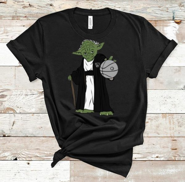 Top Master Yoda NBA Brooklyn Nets shirt