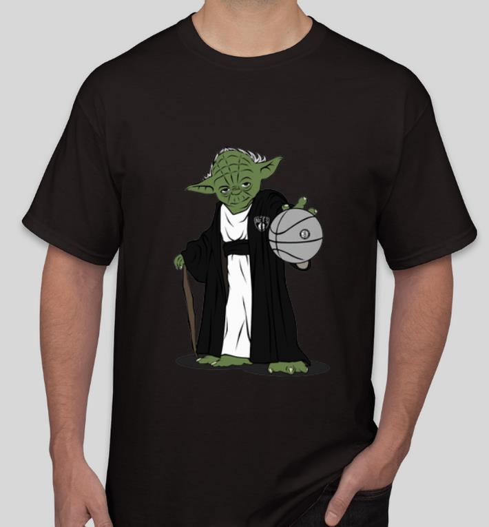 Top Master Yoda NBA Brooklyn Nets shirt 4 - Top Master Yoda NBA Brooklyn Nets shirt