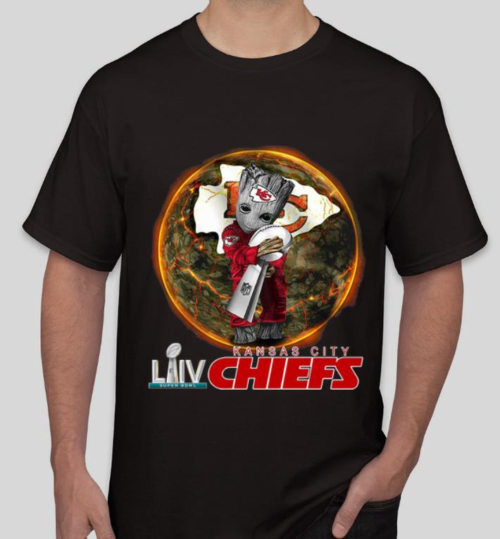 Awesome Baby Groot Hug Super Bowl Champs Cup LIV Kansas City Chiefs shirt 4 - Awesome Baby Groot Hug Super Bowl Champs Cup LIV Kansas City Chiefs shirt