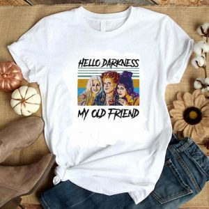 Funny Hocus Pocus hello darkness my old friend vintage shirt