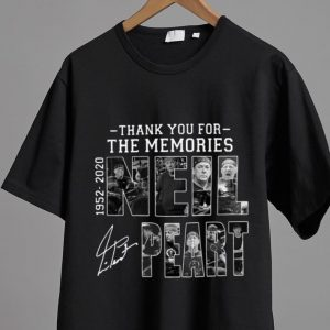 Nice Thank You For The Memories Neil Peart 1952 2020 Signature shirt