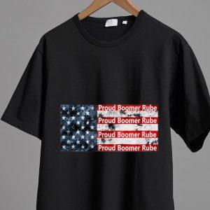 Official Proud Boomer Rube Trump 2020 American Flag shirt