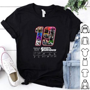 Premium 19 Years Of Fast Furious 2001 2020 10 Movies Signatures shirt 1 1 300x300 - Godfathershirts - Fashion Clothes For All Ages