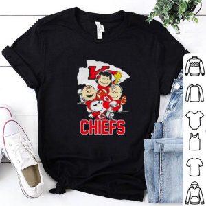 Premium Kansas City Chiefs Snoopy with friends Super Bowl LIV shirt
