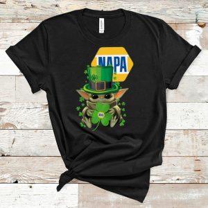 Pretty Star Wars Baby Yoda Napa Shamrock St. Patrick's Day shirt
