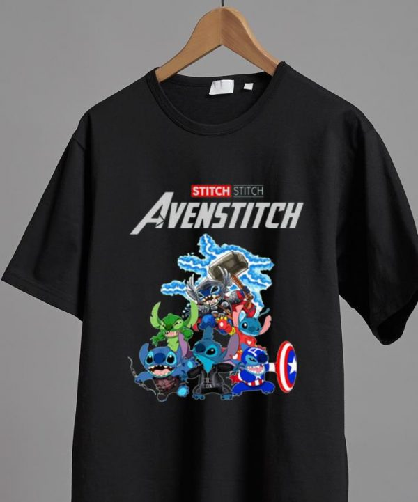 Top Marvel Avengers Stitch Avenstitch shirt