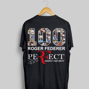 100 Roger Federer Perfect simply the best sweater
