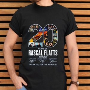 20th Years Of Rascal Flatts Band 2000-2020 Signatureshirt