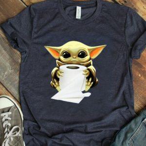 Baby Yoda Hug Toilet Paper shirt