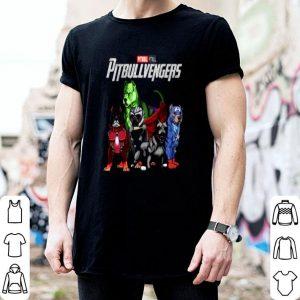 Pitbull Avengers Pitbullvengers Marvel Dogs shirt