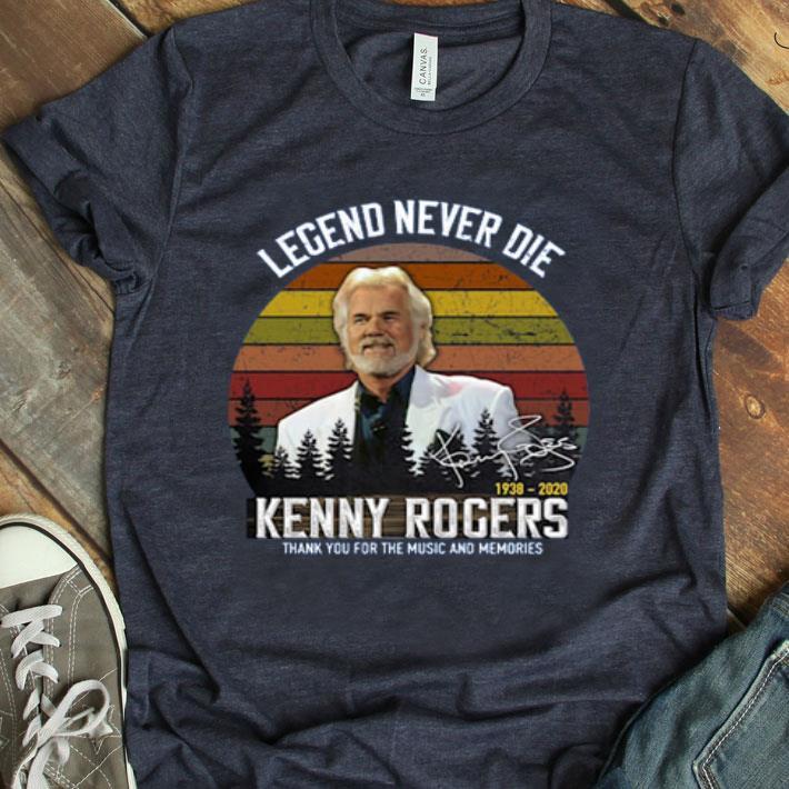 Vintage Legend Never Die Kenny Rogers