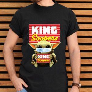 Top Star Wars Baby Yoda Mask Hug King Soopers Covid-19 shirt
