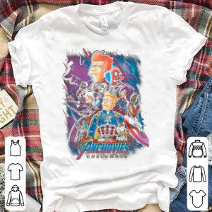Avenger Endgame Simpson anchovies checkmate shirt