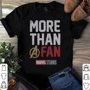 Avengers Endgame Marvel Studios MORE THAN A FAN 2019 Graphic shirt