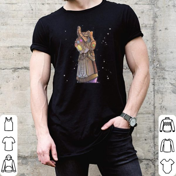 Avengers Endgame Thanos infinity gauntlet and snapped his hands shirt