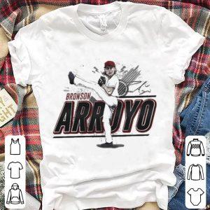 Bronson Arroyo – Hall of Heroes shirt