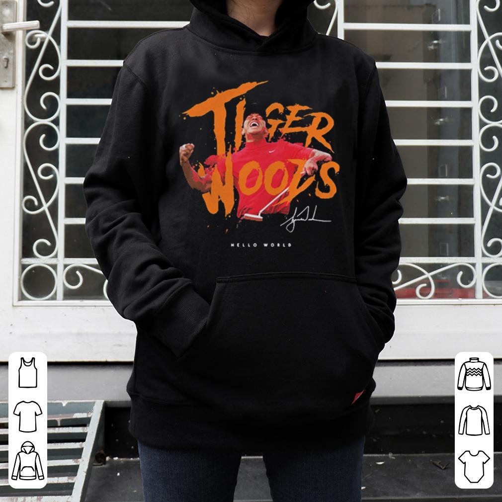 Eldrick Tont Tiger Woods hello world shirt 4 - Eldrick Tont Tiger Woods hello world shirt