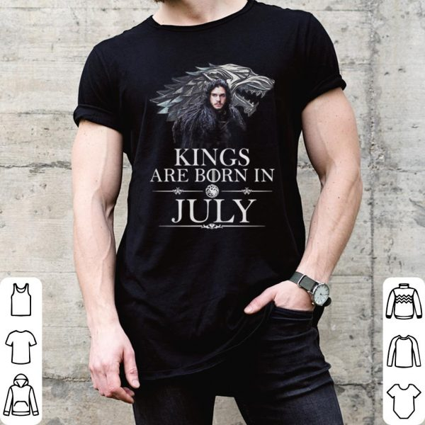 Game Of Thrones Jon Snow Kings Are Born In July shirt