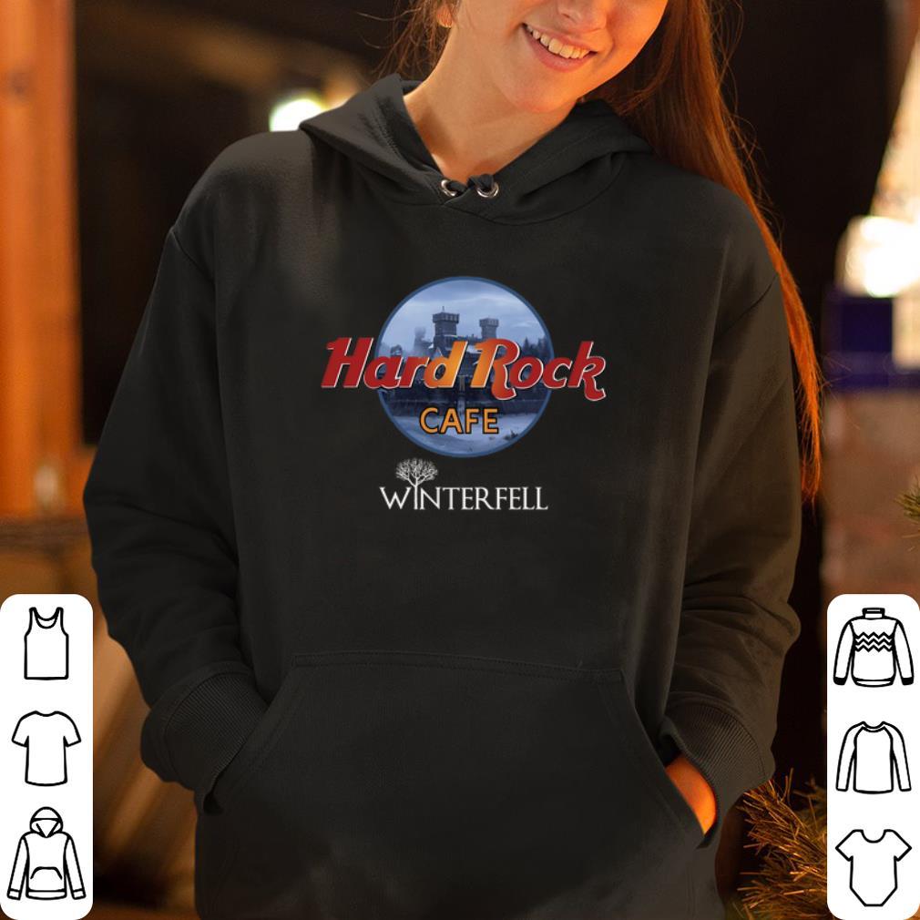 Hard Rock Cafe Winterfell shirt 4 - Hard Rock Cafe Winterfell shirt