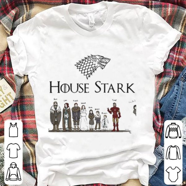 House Stark Game of Thrones and Iron Man shirt