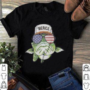 MERICA BASS FISH shirt