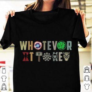 Marvel Avengers Endgame Whatever it takes shirt