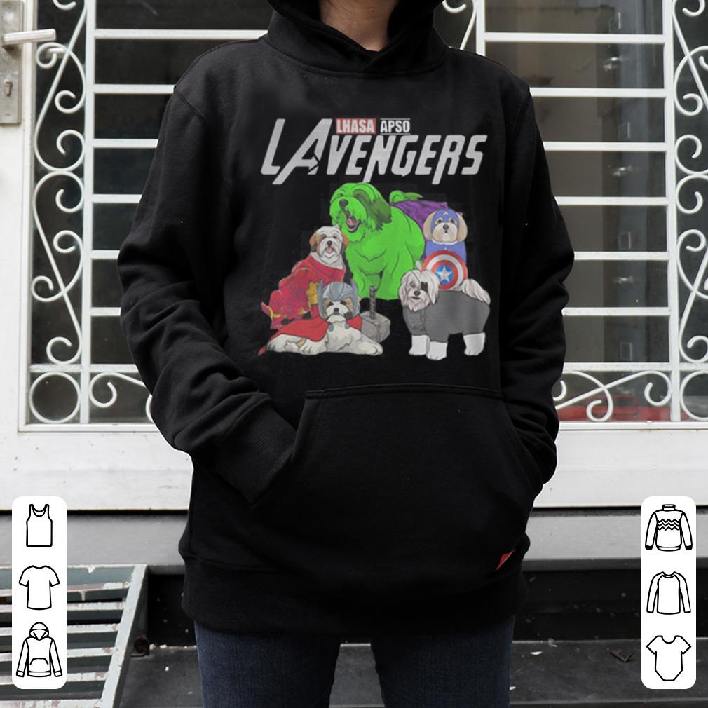 Marvel Avengers Lhasa Apso LAvengers shirt 4 - Marvel Avengers Lhasa Apso LAvengers shirt