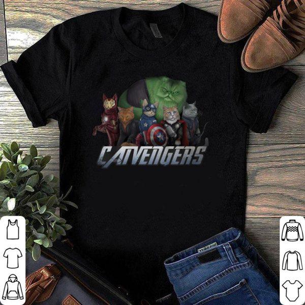 Marvel Super Heroes Catvengers version Cats shirt