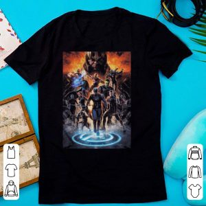 Marvel avengers endgame earth's mightiest heroes shirt